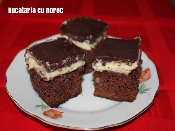 Prajitura ciocolata mascarpone - Bucataria cu noroc