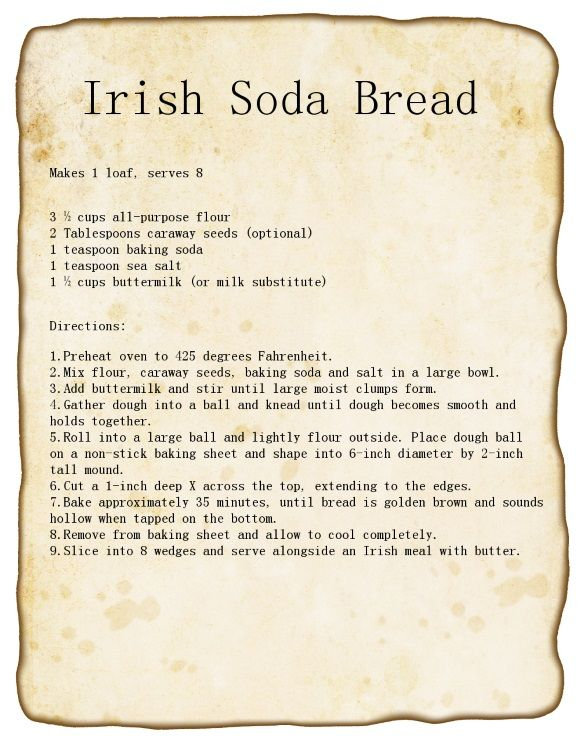 Irish Soda Bread Recipe #stpattys