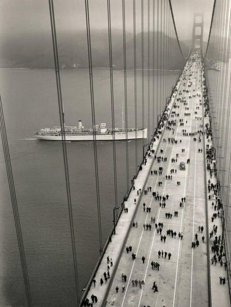 Inaugurare Golden Gate Bridge
