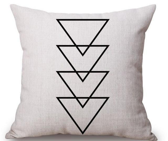Brand Name Loishomheating Method Hot Water Bag Heatinguse Seatmodel Number Cushion Coverstyle American Linen Throw Pillow Geometric Throw Pillows Pillows