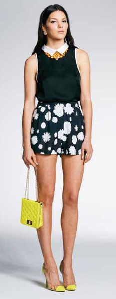 Minty Meets Munt White Blossom Tap Short - These are the ultimate shorts! Love the shape and the print, will take you from summer right through to winter $89
