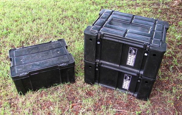Wolf Pack and Gomo Storage Boxes