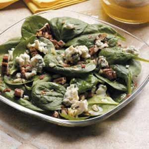 Pecan Spinach Salad Recipe
