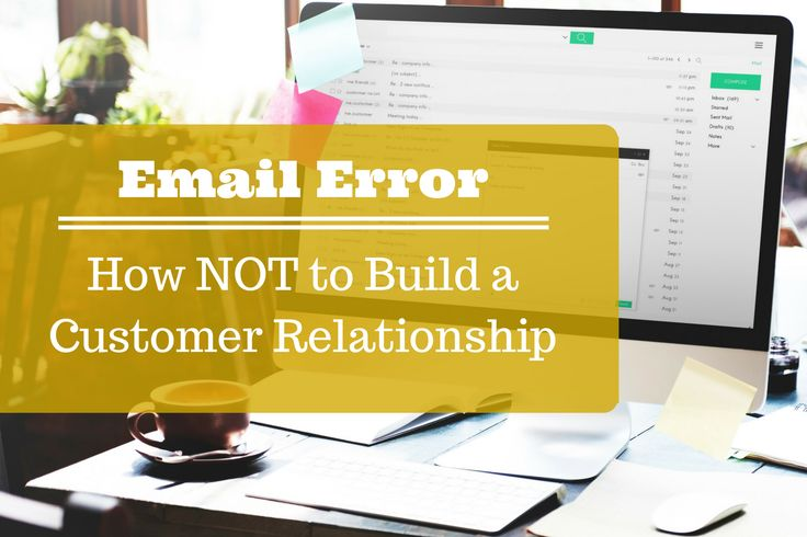 Even with the best intentions, an badly communicated marketing email can kill a relationship This is a story of one email that didn't help.  #emailmarketing #email #canva #customerexperience #customerrelationship