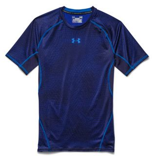 Under Armour HeatGear Armour Printed Short Sleeve Compression Shirt - Men's