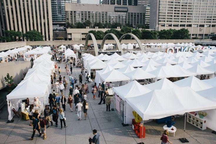 Toronto Outdoor Art Exhibition | Nathan Phillips Square, 100 Queen Street West, Toronto |