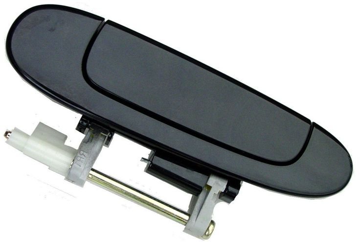 Toyota Echo 00- 05 Outside Door Handle Rear LH USA Driver Side (Smooth Black)