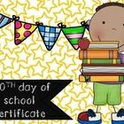 100th day of school certificate: Congratulations! You are 100 days smarter!   Thanks for downloading!  Please leave feedback and earn your TpT cred...