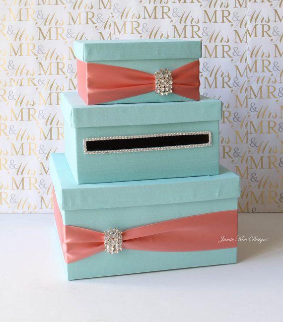 Best 25 wedding gift card box ideas on pinterest silver money wedding card box money box wedding gift card money box custom made to order solutioingenieria Choice Image