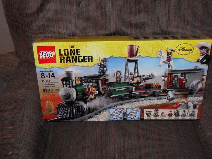 Rare! LEGO Lone Ranger-Constitution Train Chase-79111- NIB WQW!