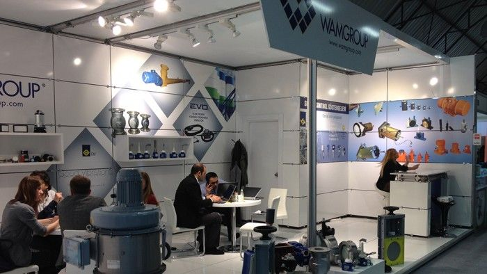 WAM Group - WIN Automation 2014 İstanbul, Exhibition stand.