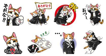 なめ猫 学割応援団!