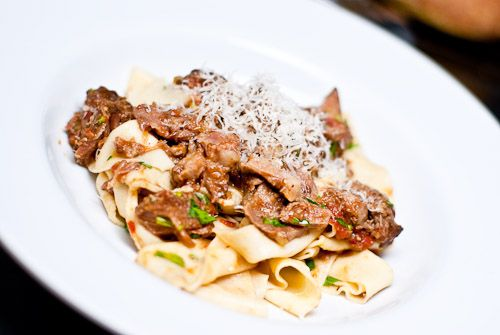 Pork Cheek Ragù with Pappardelle - so rich but oh so good for a splurge!