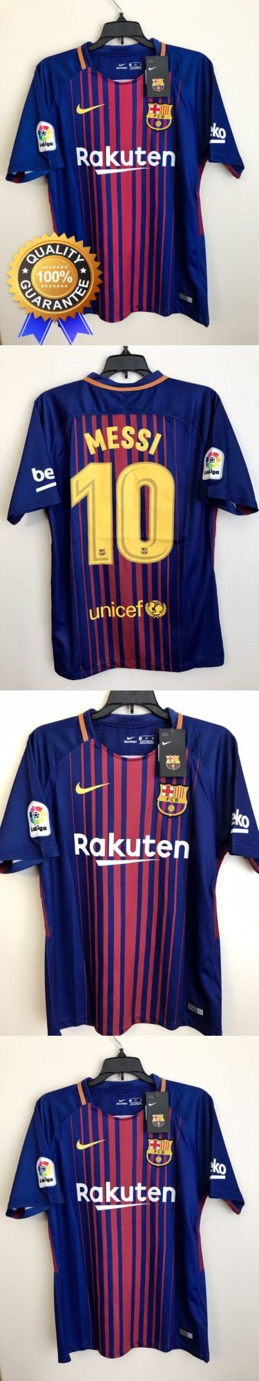 Men 123490: Hot Sale?? New Fc Barcelona Messi #10 Home Soccer Jersey, Size M Medium -> BUY IT NOW ONLY: $38.99 on eBay!
