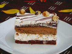 Prajitura cu alune si ciocolata