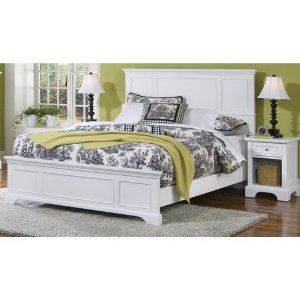 Piece Bedroom Set In White Finish Shaker Style White Finish Bedrooms