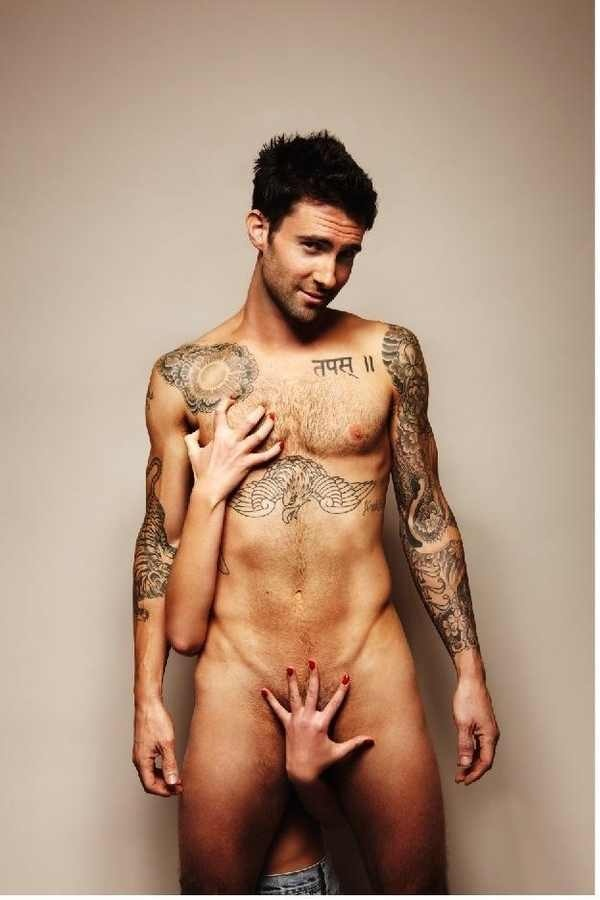 Oh hey, Adam Levine!  ... Uploaded with Pinterest Android app. Get it here: http://bit.ly/w38r4m