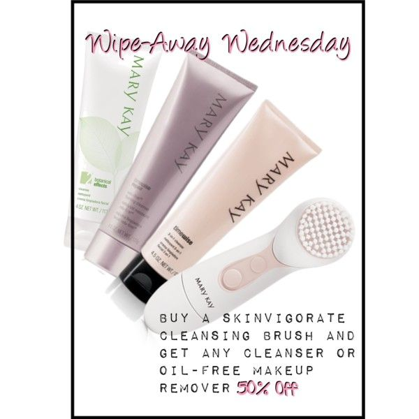 Wipe-Away Wednesday by abby-hunt-quade on Polyvore featuring polyvore, beauty and Mary Kay