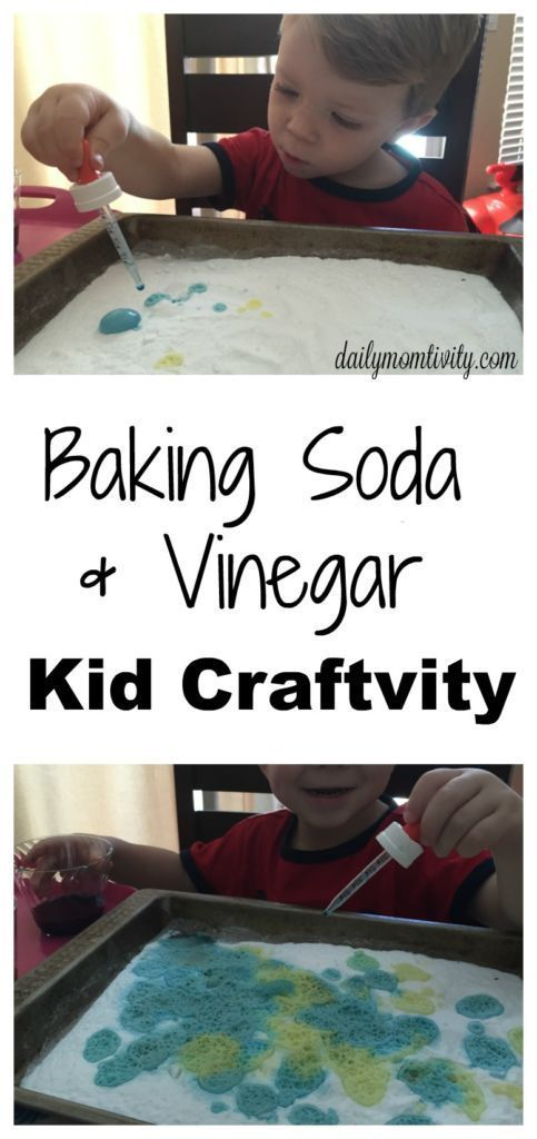 Science Experiment for Young Learners: Baking Soda and Vinegar