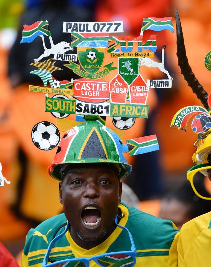 Afrique du Sud - Cap Vert (groupe A) - CAN Orange 2013 - samedi 19 janvier 2013 - Johannesburg - Afrique du Sud - crédit photo : © Chrisitian Lievig - Abacapress #CAN2013 #Football #12ehomme