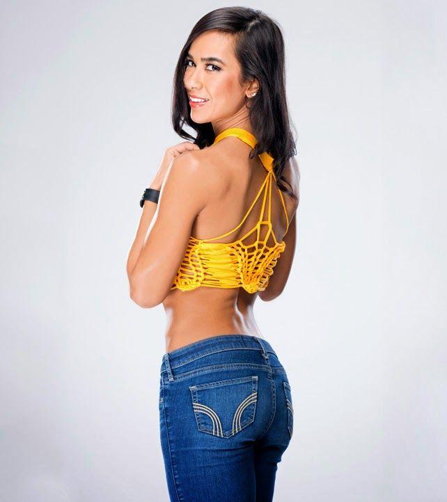 AJ Lee Latest Photoshoot 'Nerd Alert' For WWE Divas