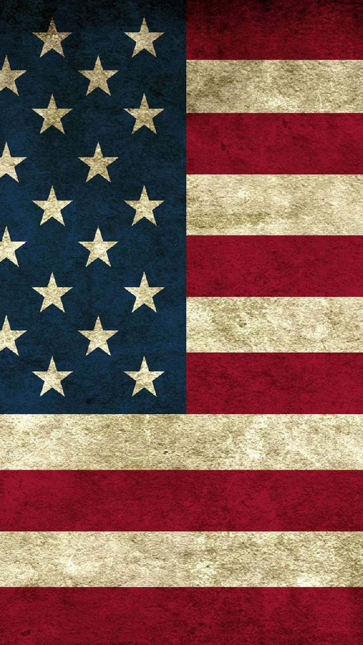 Free Iphone 5 Wallpaper for your iPhone USA vintage flag