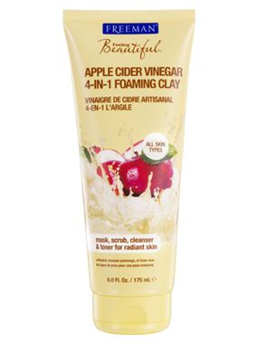 Freeman Apple Cider Vinegar 4-in-1 Foaming Clay