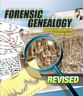 Forensic Genealogy is the use of something OTHER THAN standard records to add to your family history.