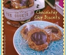 Recipe GF Chocolatey Chip Biscuits by Yvette M - Recipe of category Baking - sweet