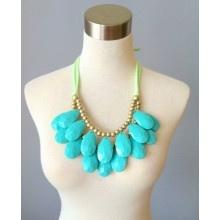 Jade Bib Necklace