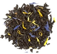 Organic Cream of Earl Grey (Davids Tea). This is a perfect little tea to study/read/relax with.