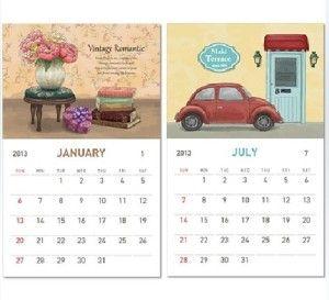 Order 2015 custom offset calendar printing. Visit http://www.printearly.com/products/calendars