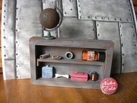 Fallout 4  Junk Supplies Shelf  with Nuka Cola Cap
