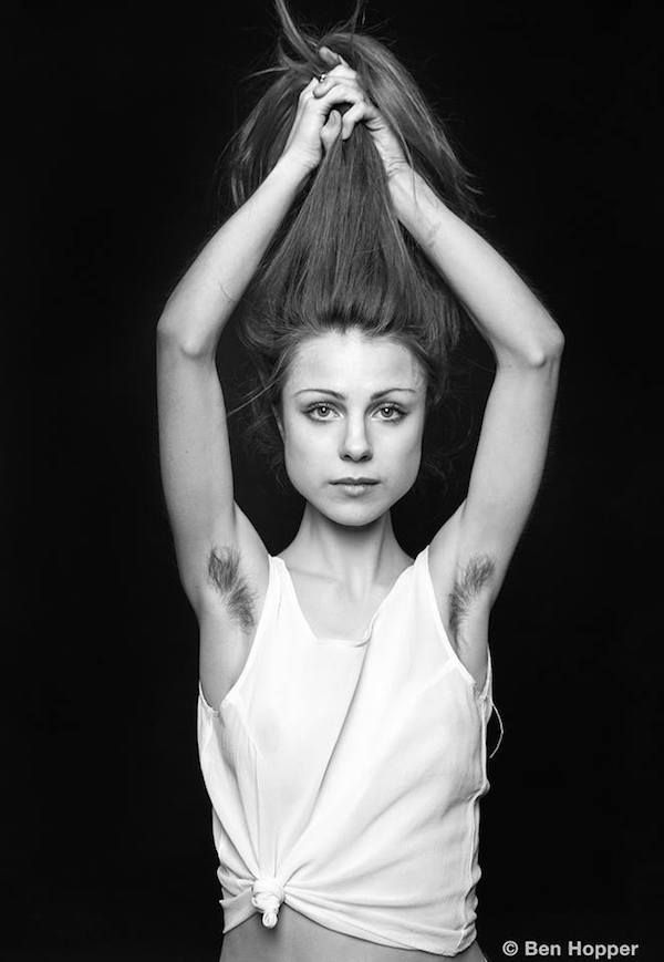 Photographer Aims To Change The Standards Of Beauty By Shooting Women With Armpit Hair (Photos)