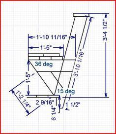 Bench Deck Railing Plan
