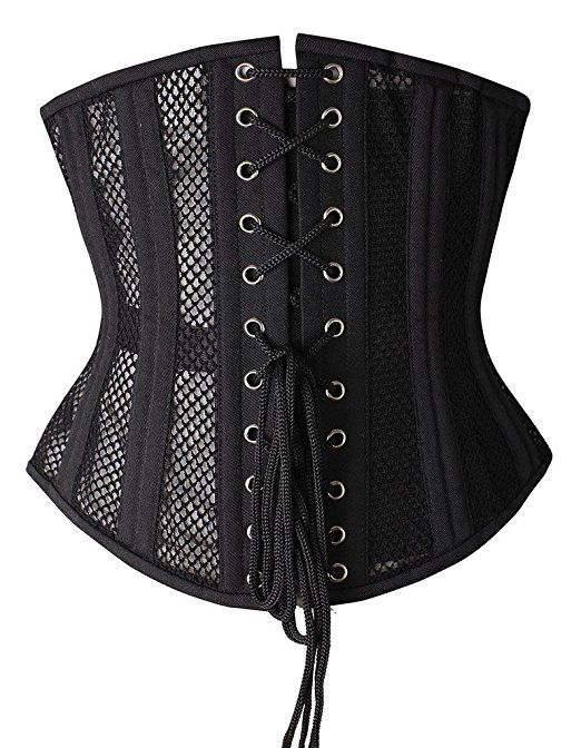 bafc342bc5 Camellias Women s 26 Steel Boned Heavy Duty Waist Trainer Corset Shaper for  Weight Loss at Amazon Women s Clothing store