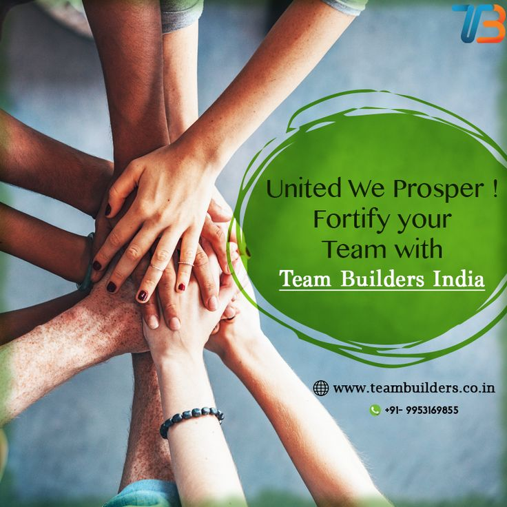 Is your company's performance deteriorating due to discord among the employees? Is the absence of a healthy work environment affecting the employee's work? Strengthen your team with innovatively fun team building activities by Team Builders. To know more get in connect with us at 09953169855 right away.