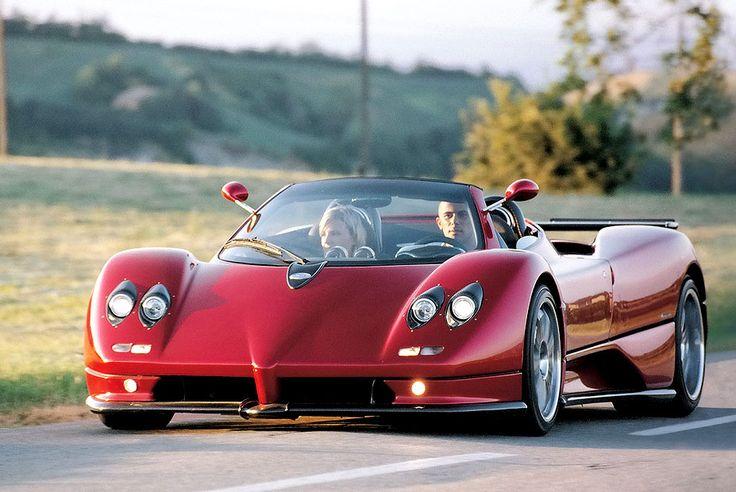 World's Most Expensive Cars-Pagani Zonda Clinque Roadster 1.85-Million