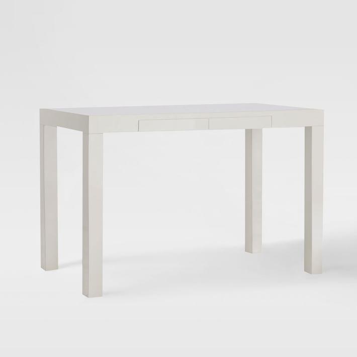 Parsons Desk - White