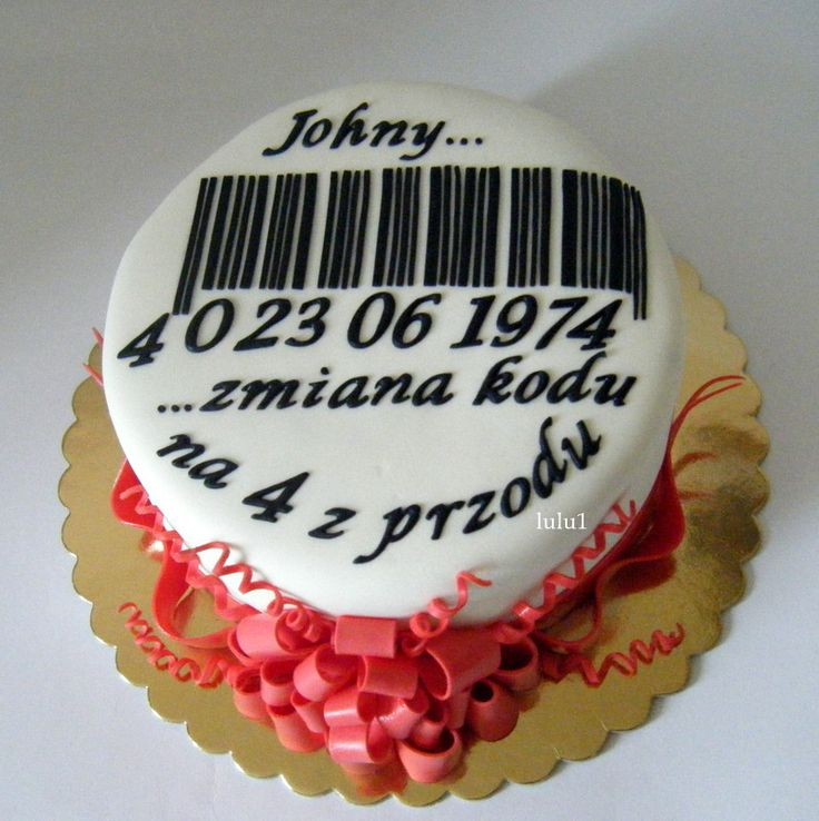 tort na 40 urodziny