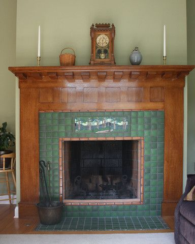 101 Best Images About Fireplaces By Motawi On Pinterest