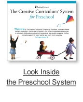 Creative Curriculum for Preschool- this is what I will be working with this year! If anyone has any input, I'd appreciate it!