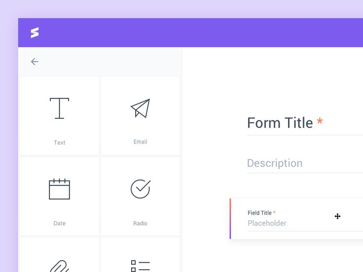 Heyas! Here is a lil' preview of a form builder I redesigned for an australian agency. Have a nice week y'all ;) Vincent