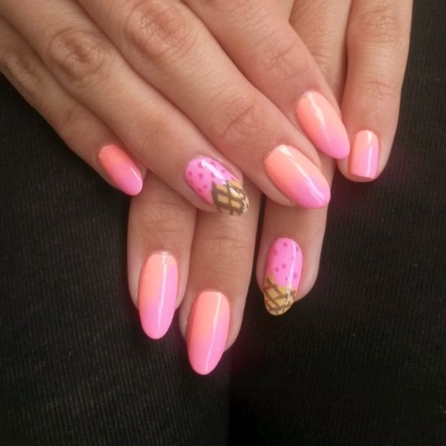 Ice Cream Nails: 17 Best Images About Nail Art By Vanilla Vice On Pinterest
