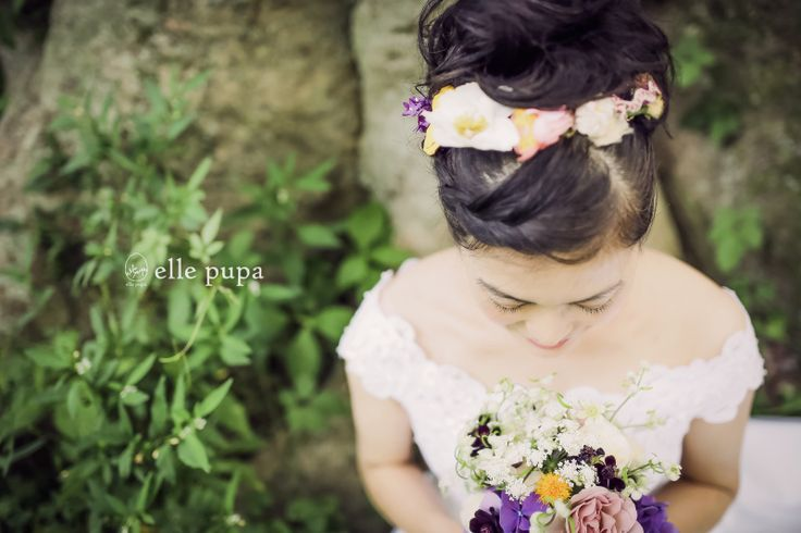 カラフルフラワーで前撮り* |*ウェディングフォト elle pupa blog*|Ameba (アメーバ)