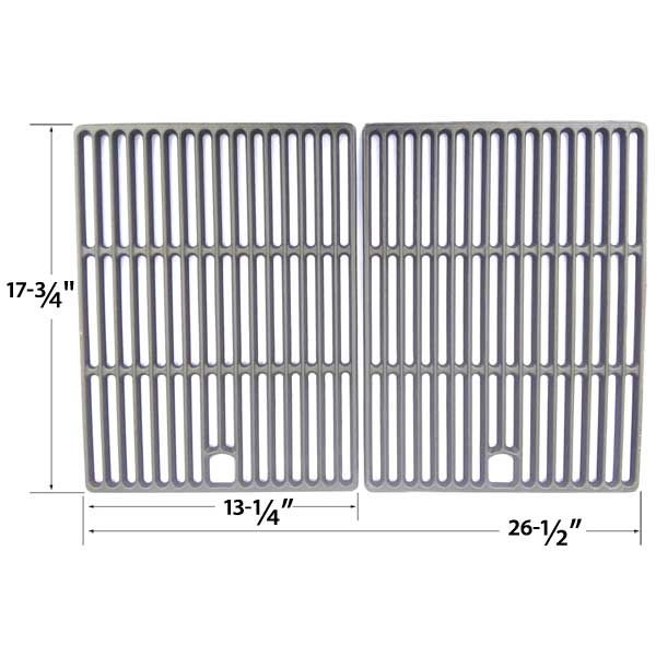 2 PACK CAST IRON REPLACEMENT COOKING GRID FOR LIFE@HOME, UNIFLAME GBC621C, GBC621CR-C, GBC730W, GBC730W-C, GBD621CR-C AND XPS DXH8303 GAS GRILL MODELS  Fits Life@Home : GSC2818J , GSC2818JN , GSS2818J , GSS2818JN  BUY NOW @ http://grillrepairparts.com/shop/grill-parts/cast-iron-replacement-cooking-grid-for-uniflame-gbc621c-gbc621cr-c-gbc730w-gbc730w-c-gbd621cr-c-and-xps-dxh8303-gas-grill-models-set-of-2/