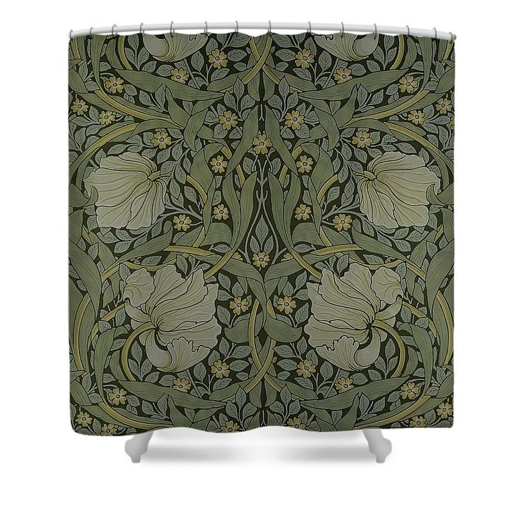 Pimpernel Wallpaper Design Shower Curtain By William Morris This Shower Curtain Is Made From