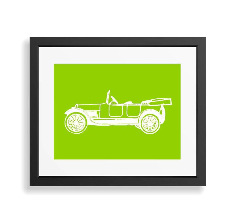 Vintage Car Print,Car Art Print, Antique Car Wall Art,Boys Nursery Decor, Automobile Art,Gift for Boys, Man cave Decor, Historic Car Print by BonniePrintsElmo on Etsy