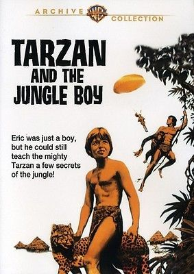 Tarzan and the Jungle Boy (DVD Used Very Good) DVD-R/WS
