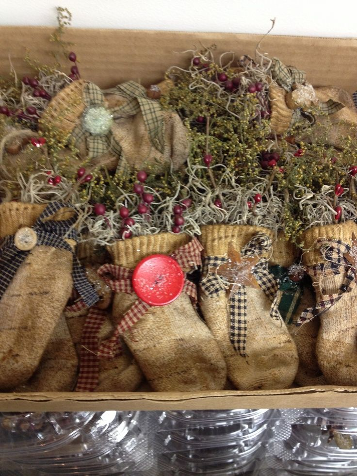 primitive christmas | Primitive Handmade Ornaments :) | Christmas blessings